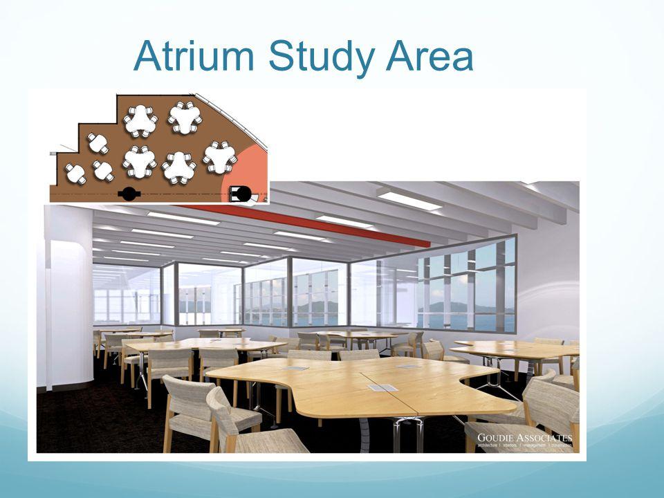 Atrium Study Area