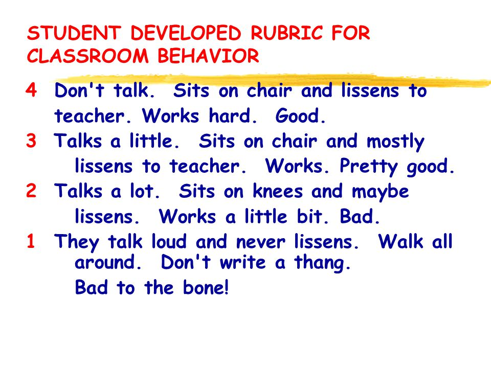 ð RUBRICS ASSESSMENT STRATEGIES: