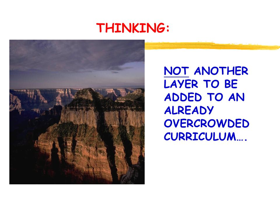THINK - PAIR - SHARE GENERATE WAYS YOU MIGHT SIGNAL THINKING AND HABITS OF MIND AS GOALS AND VALUES OF YOUR SCHOOL.
