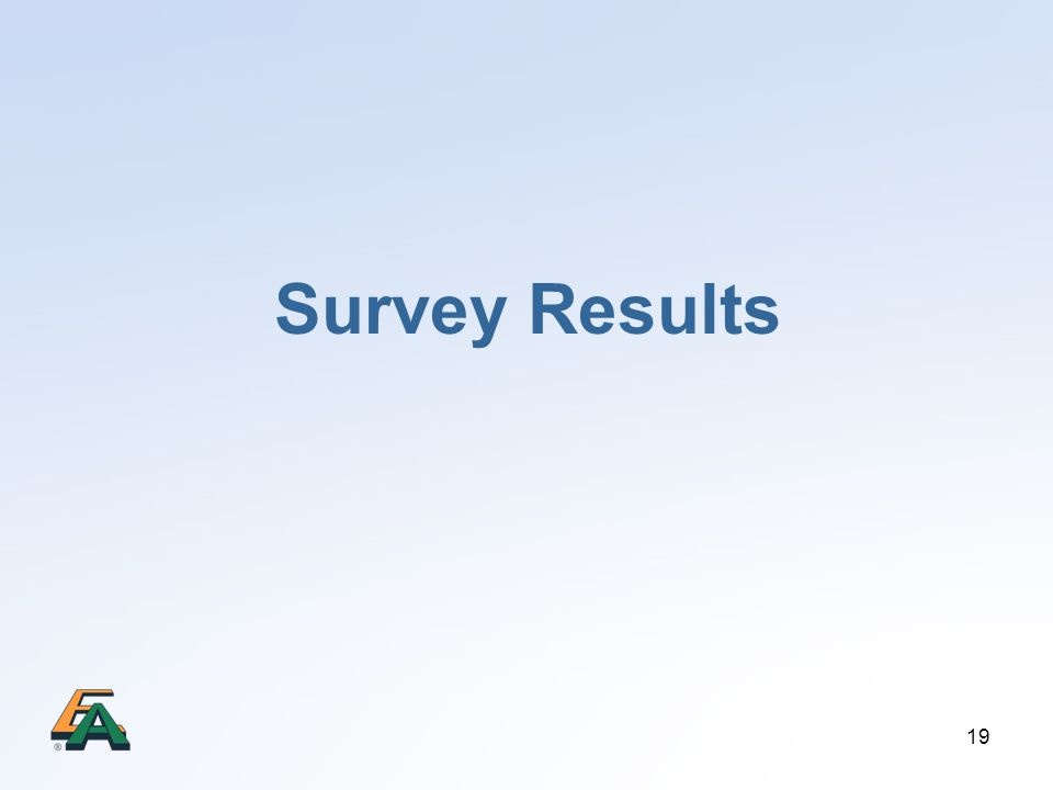19 Survey Results