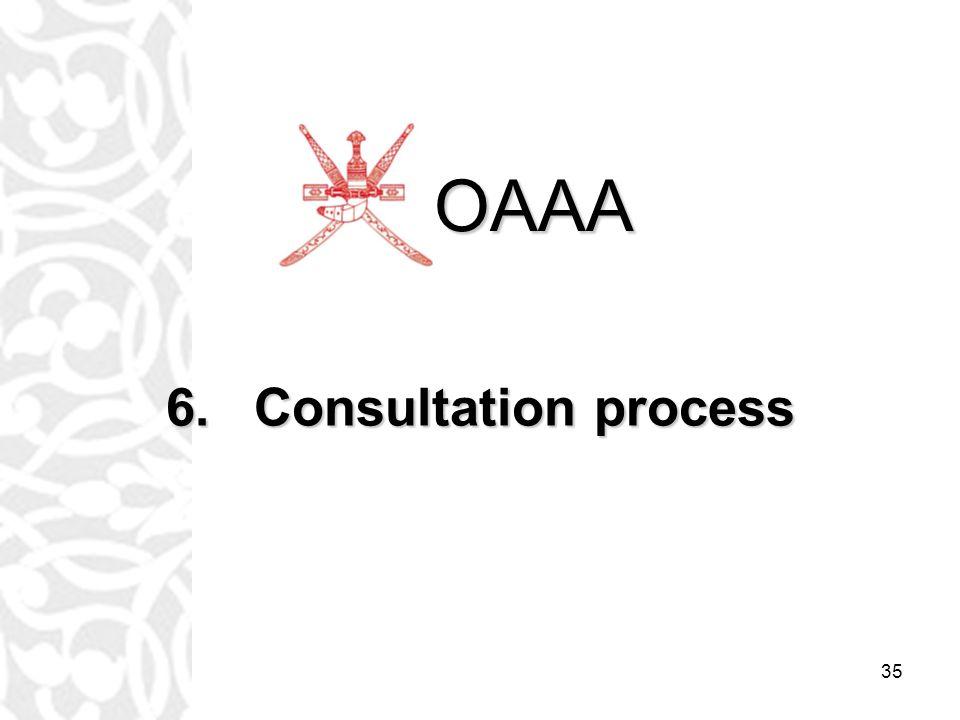 35 6.Consultation process OAAA