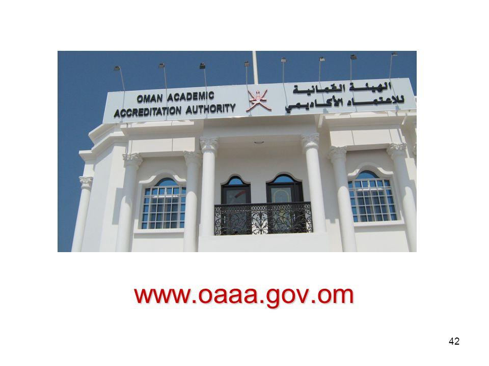 42 www.oaaa.gov.om