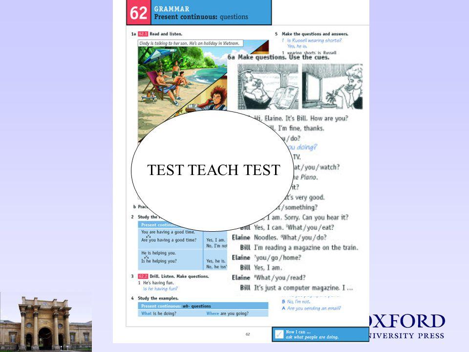 TEST TEACH TEST