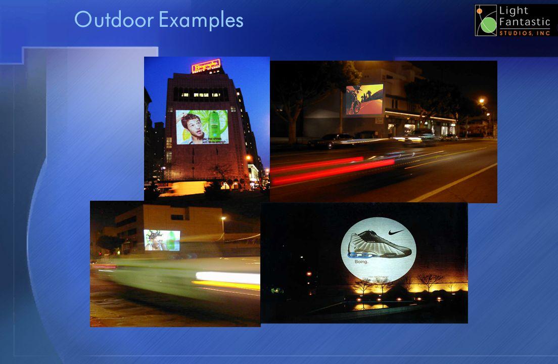 Outdoor Examples