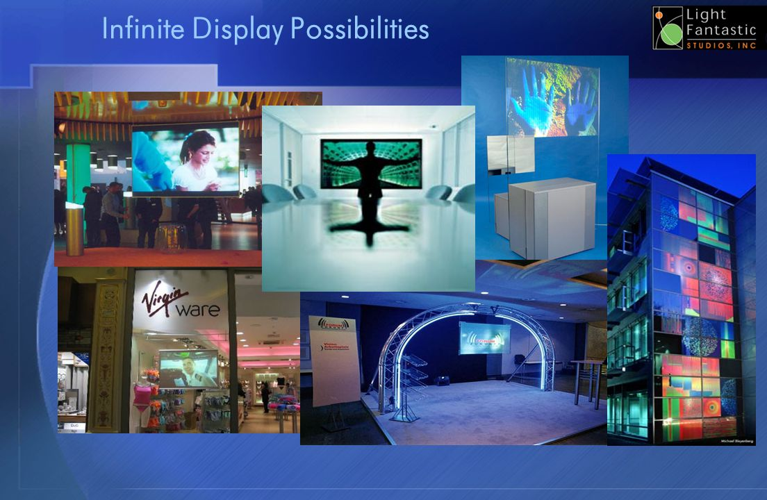 Infinite Display Possibilities