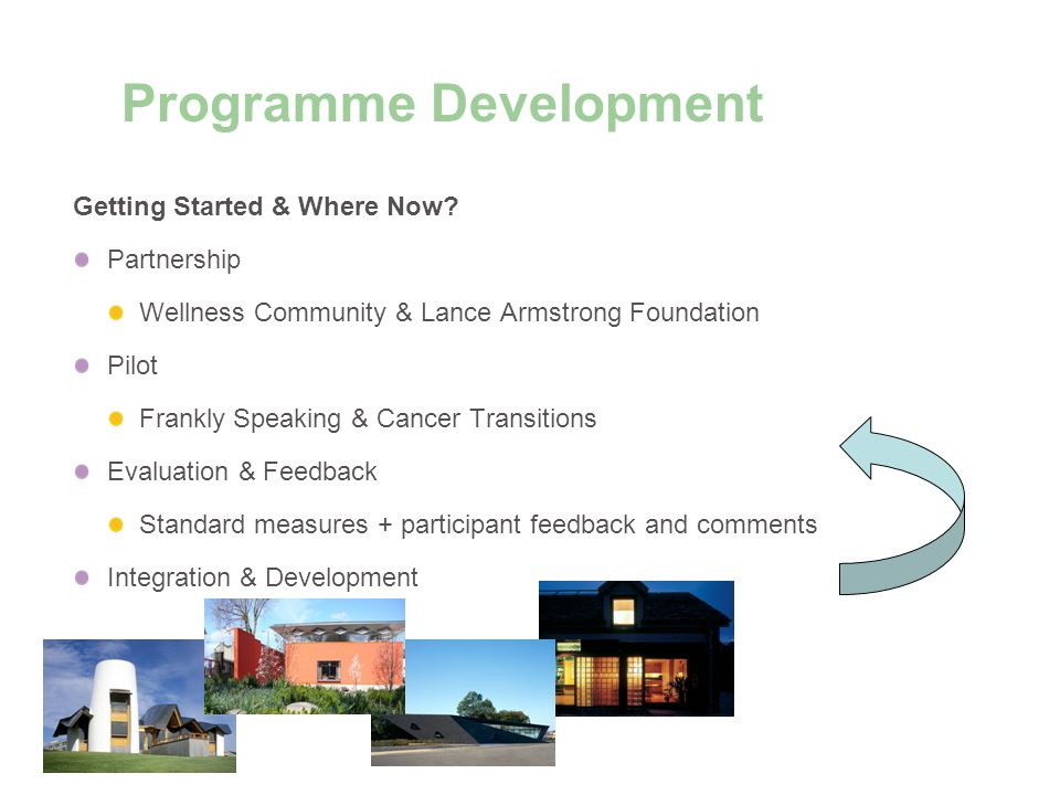 Programme Development Getting Started & Where Now.
