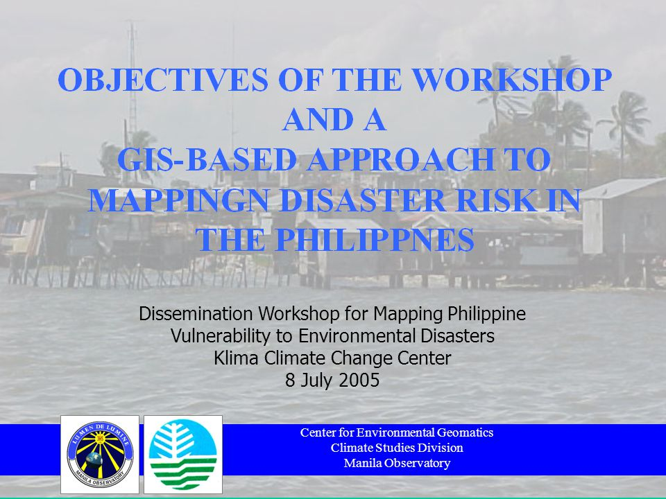 OUTLINE OF PRESENTATION OBJECTIVES OF THE WORKSHOP THE VM-DENR PROJECT WHERE DOES THE MONEY GO.