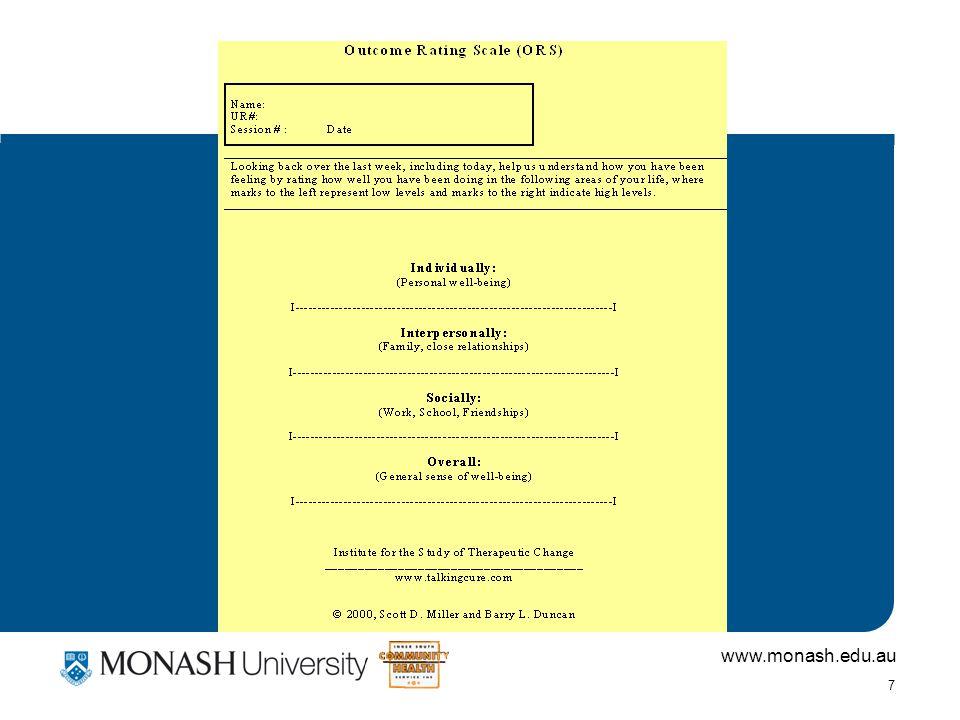 www.monash.edu.au 7