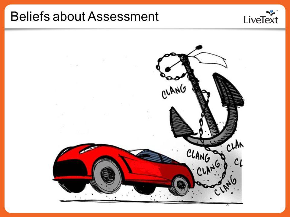 Beliefs about Assessment