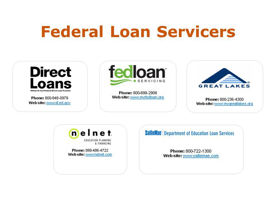 Federal Loan Servicers