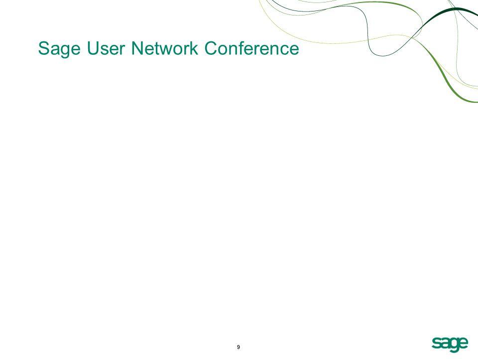 9 Sage User Network Conference