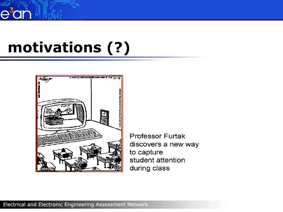 motivations ( )