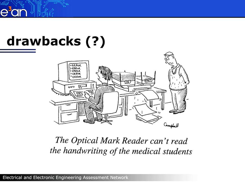 drawbacks ( )