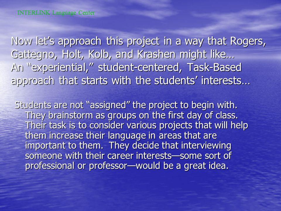 Presentation Day: INTERLINK Language Center