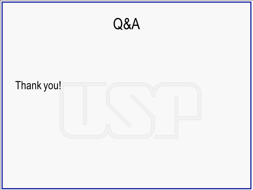 Q&A Thank you!