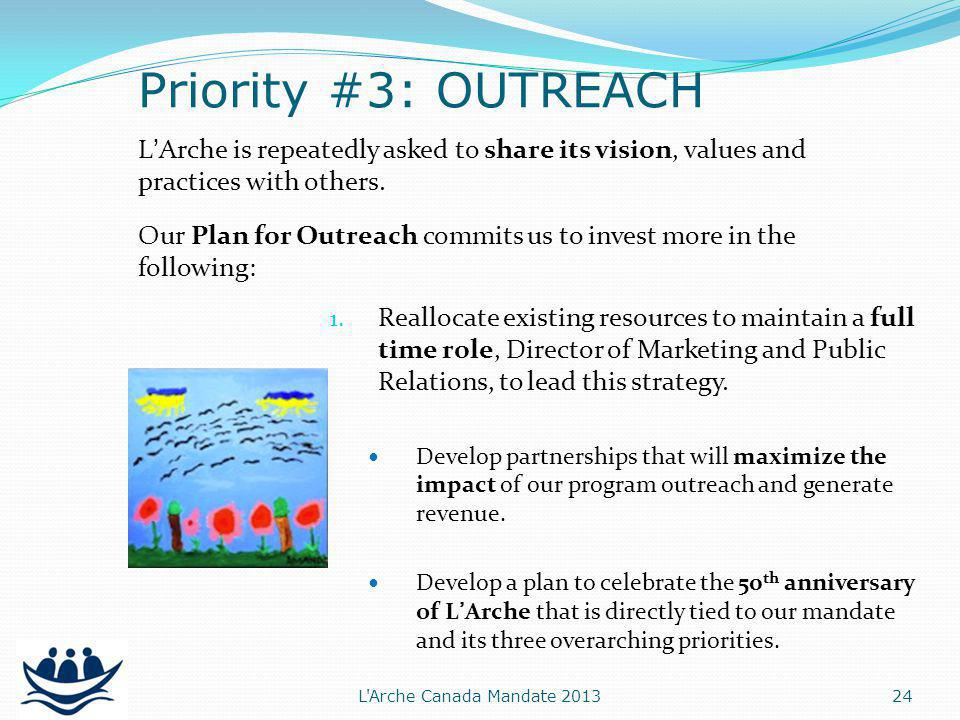 LArche is repeatedly asked to share its vision, values and practices with others.