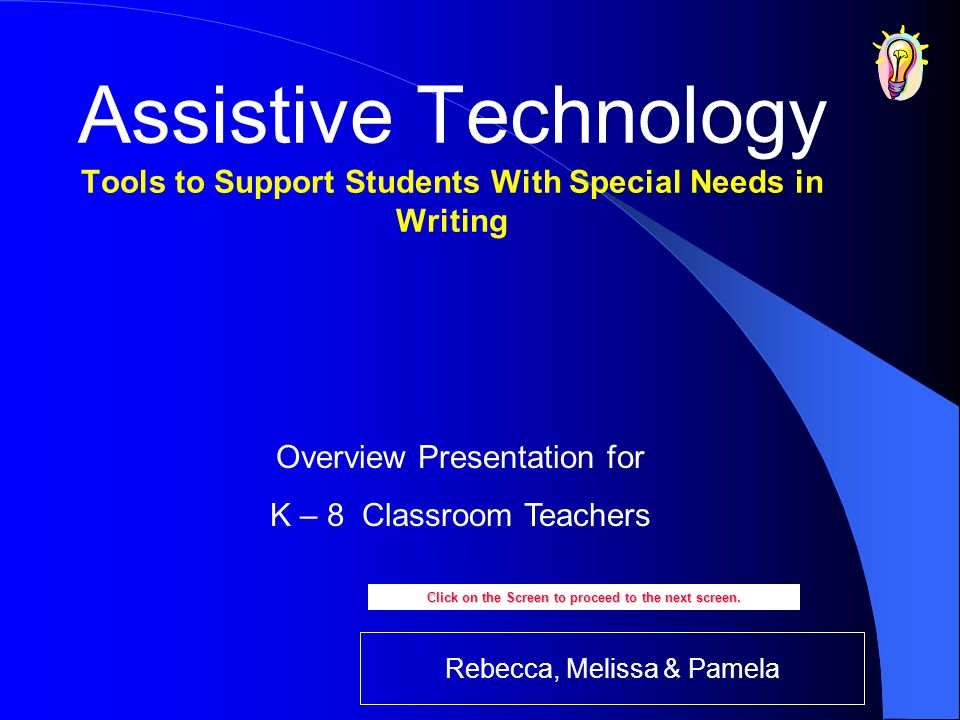 Clicker 5 Teachers can create and/or change word lists from which students use to create written materials.