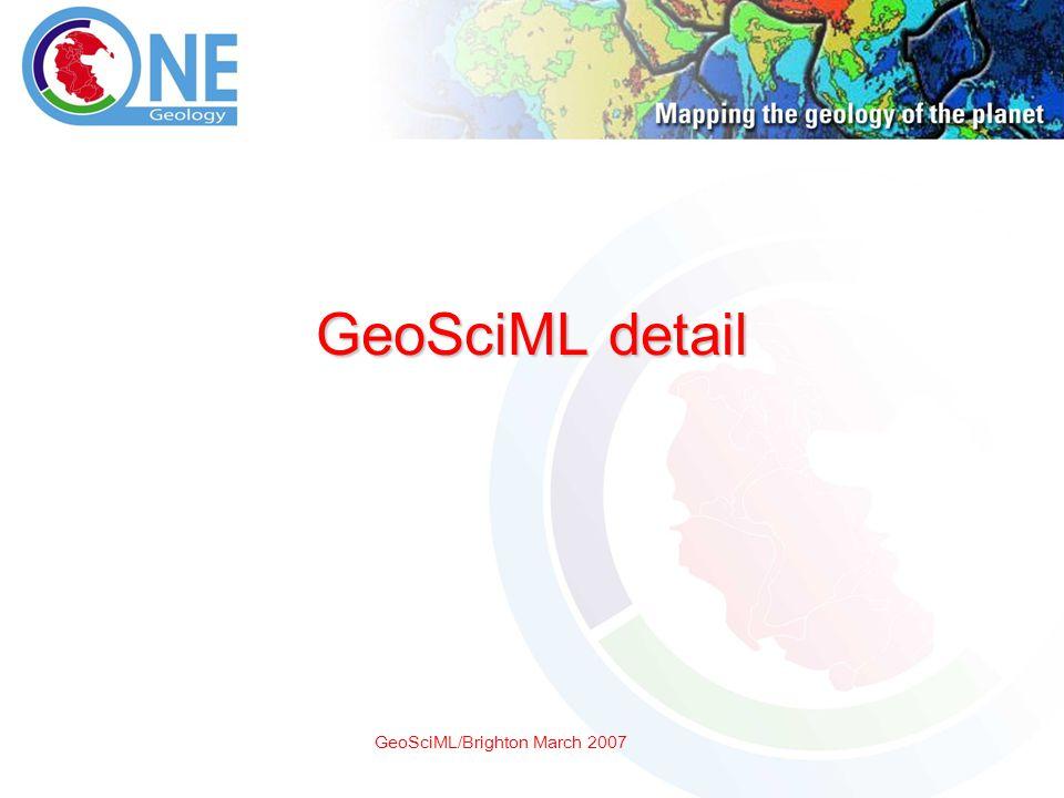 GeoSciML/Brighton March 2007 GeoSciML detail