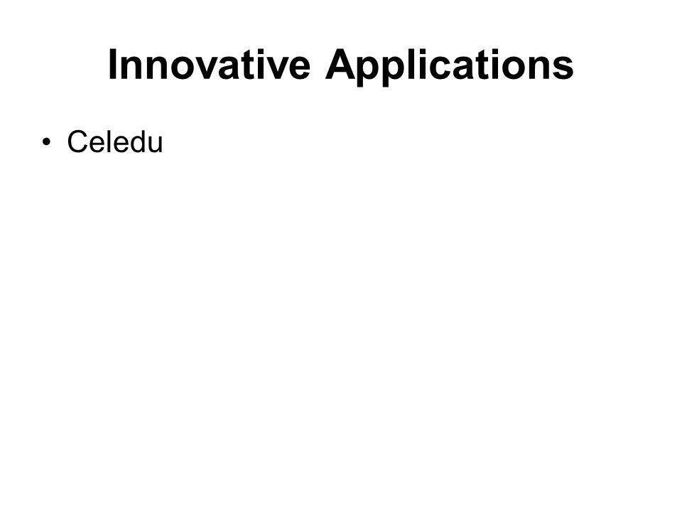 Innovative Applications Celedu