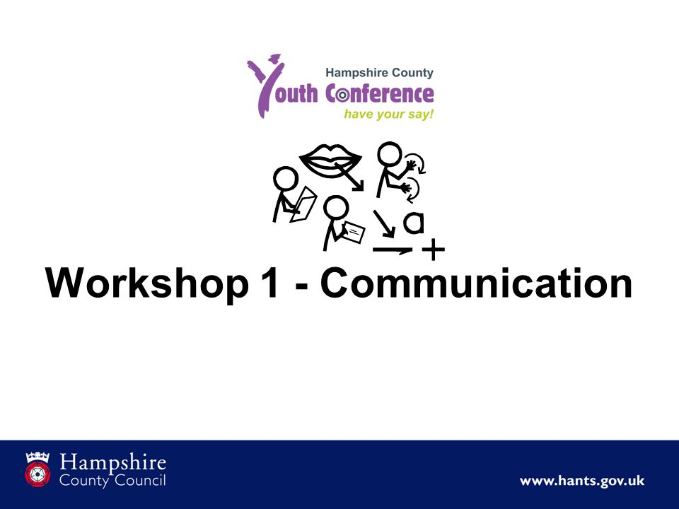 Workshop 1 - Communication
