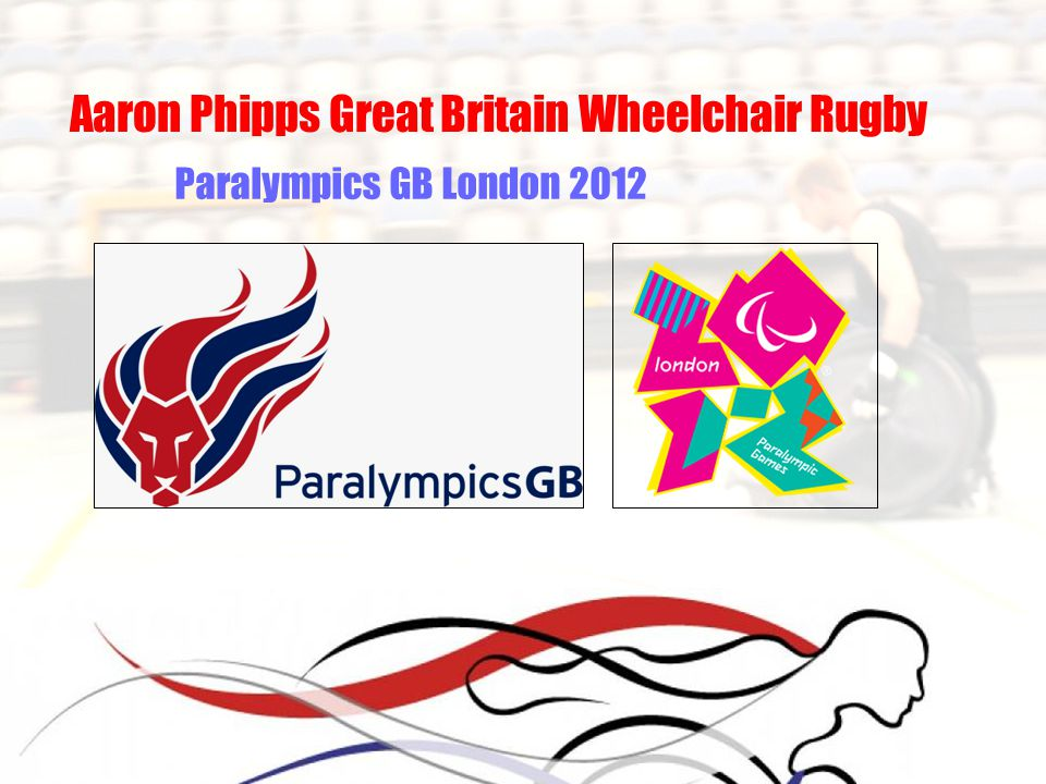 Aaron Phipps Great Britain Wheelchair Rugby Paralympics GB London 2012