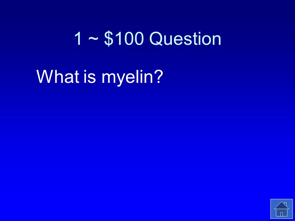 1 ~ $100 Answer This material covers the axons of nerve cells in the PNS.