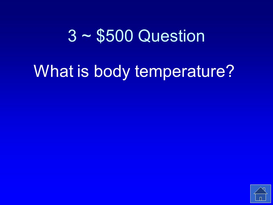3 ~ $500 Answer Shivering, arm hair standing up are part of the bodys homeostatic mechanism to regulate this.