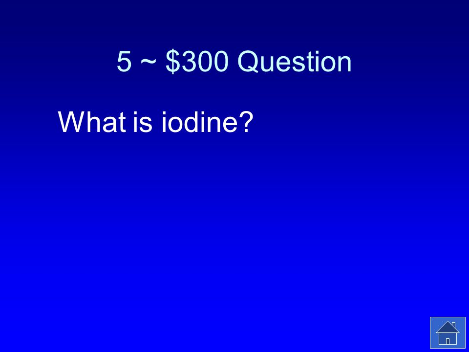 5 ~ $300 Answer You may get a goiter if you dont have enough of this in your diet.