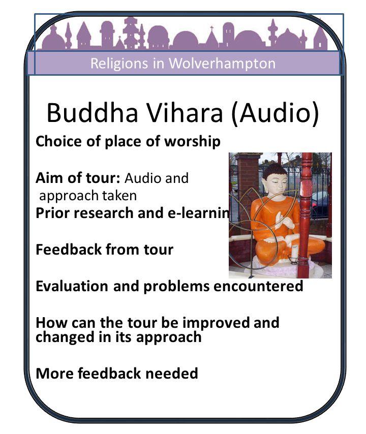 Buddha Vihara Wolverhampton Start 2 3/5 4 3 6 7 8 9 10 11 12 13 14 1 Clare Walker Why do Buddhists use the lotus flower.