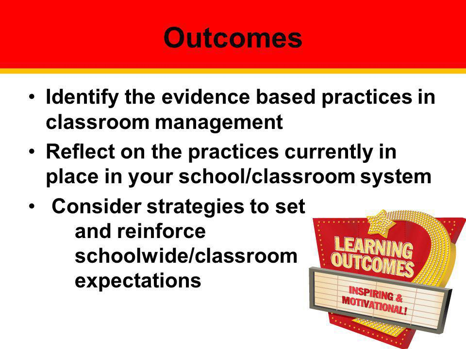 Operationally define what the rules look like across all the routines and settings in your classroom.