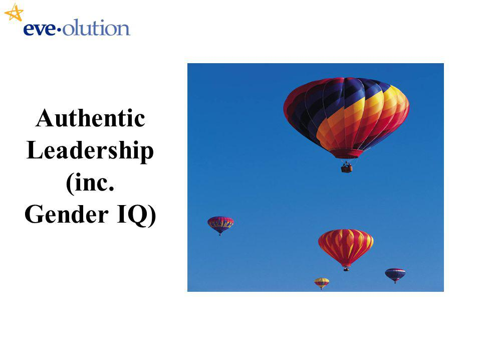 Authentic Leadership (inc. Gender IQ)