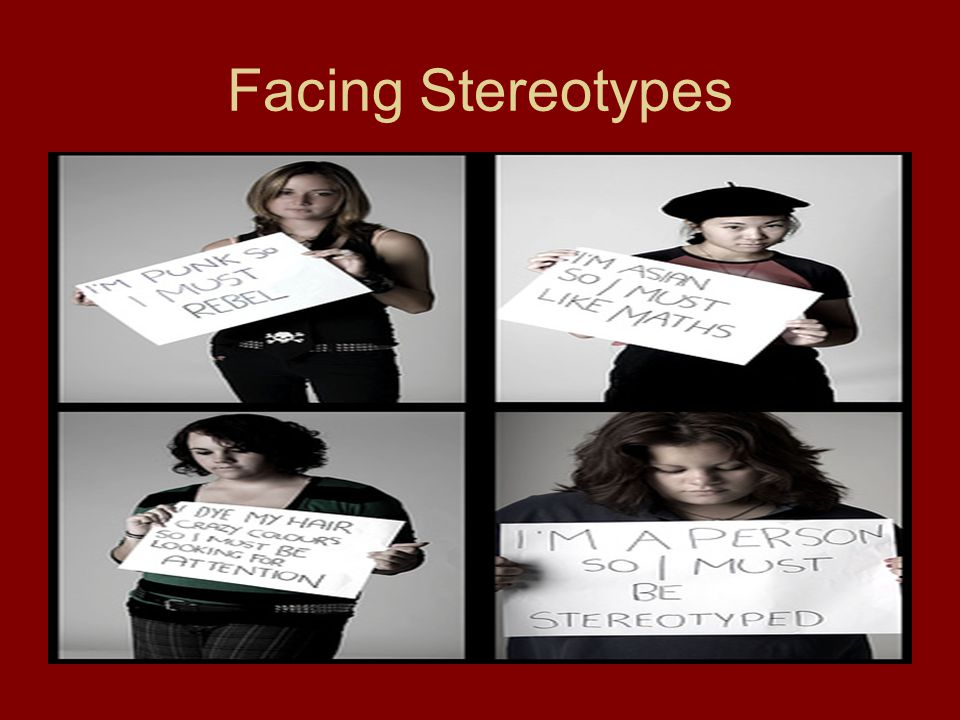 Facing Stereotypes
