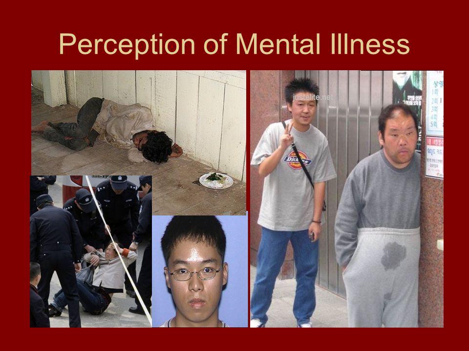 Perception of Mental Illness