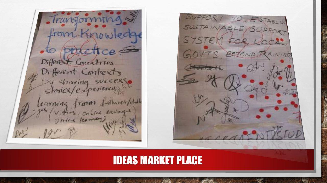 IDEAS MARKET PLACE