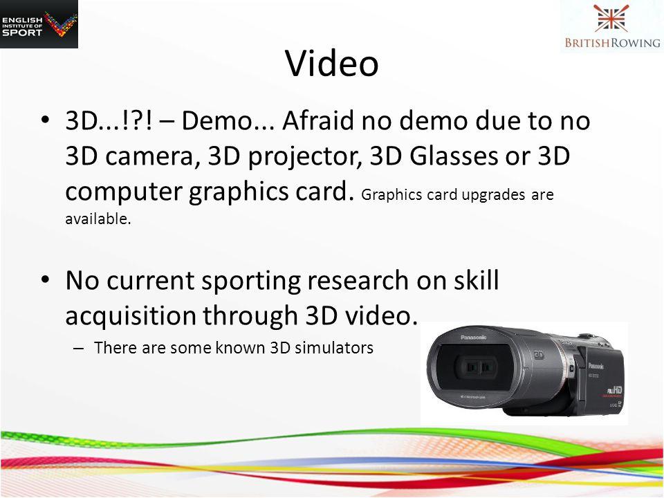 Video 3D...! . – Demo...