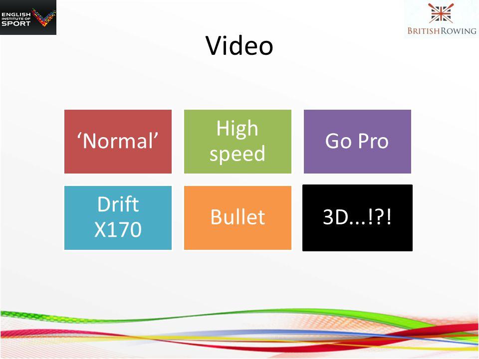 Video Normal High speed Go Pro Drift X170 Bullet3D...! !