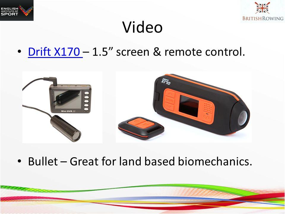 Video Drift X170 – 1.5 screen & remote control.
