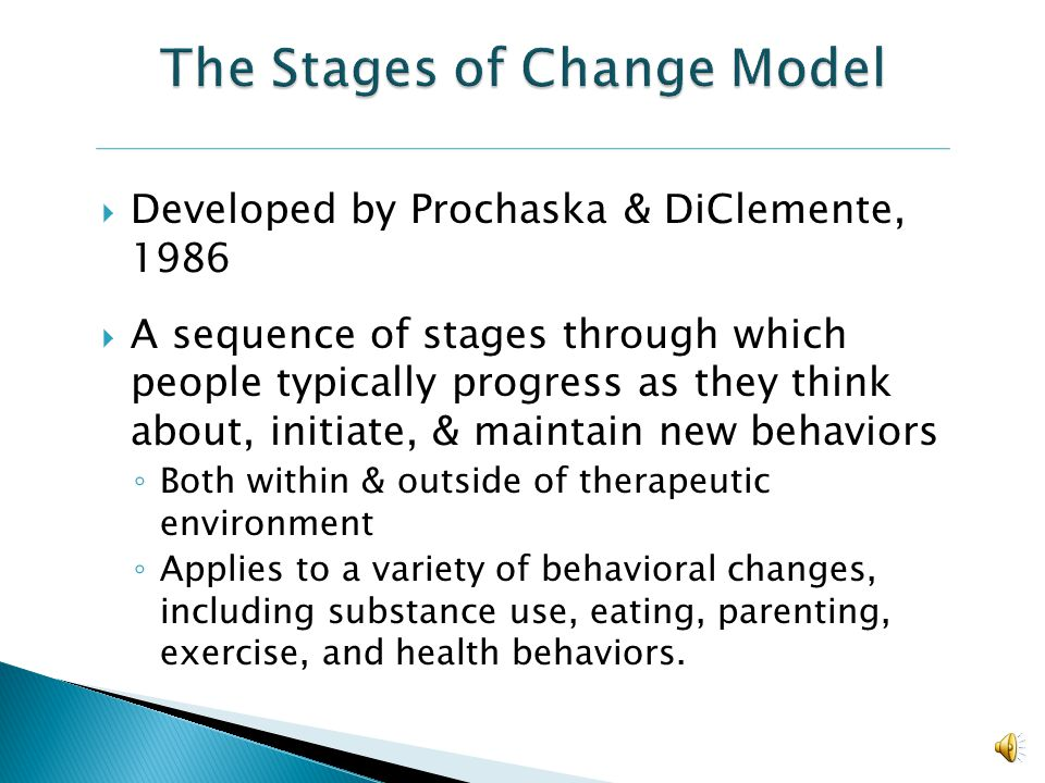 A style of intervention based on the premise that people are most likely to change when the motivation comes from themselves, rather than being impose