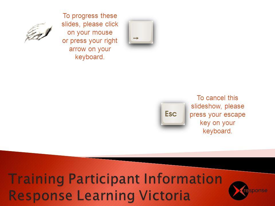 Summary of RLV_PUB001 Participant Handbook (v13) Slide Show Presentation Version 2 05/03/13