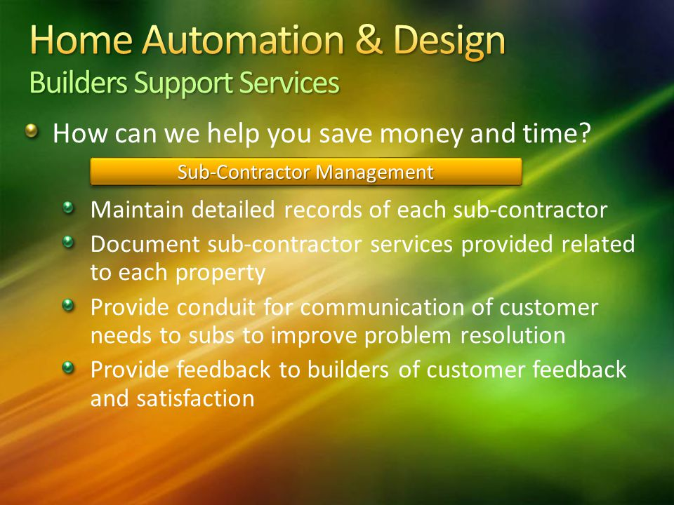 How can we help you save money and time.