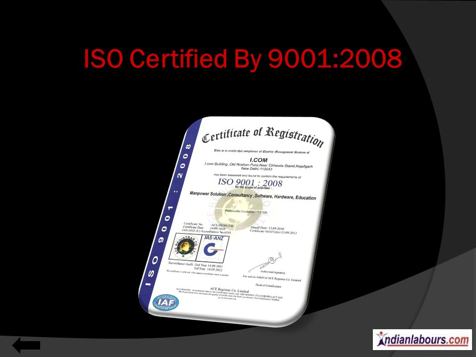 ISO Certified By 9001:2008