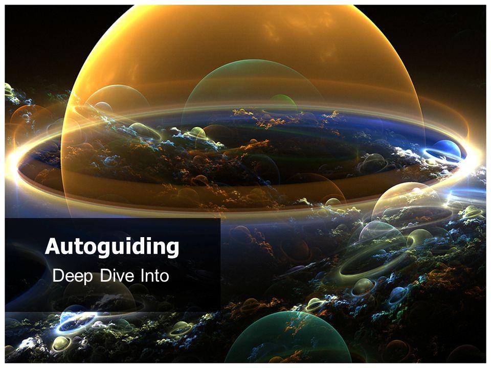 Deep Dive Into Autoguiding