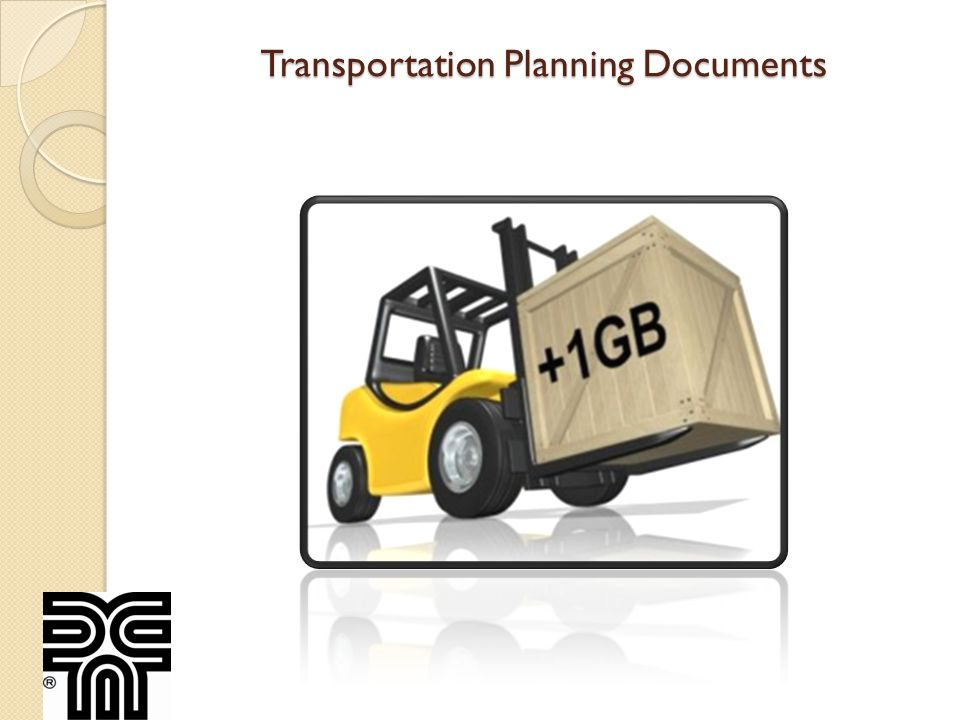 Transportation Planning Documents