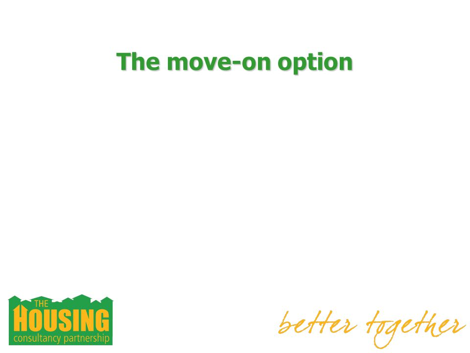 The move-on option