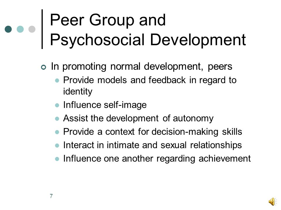 6 Modes of peer influence How do peers exert their influence.