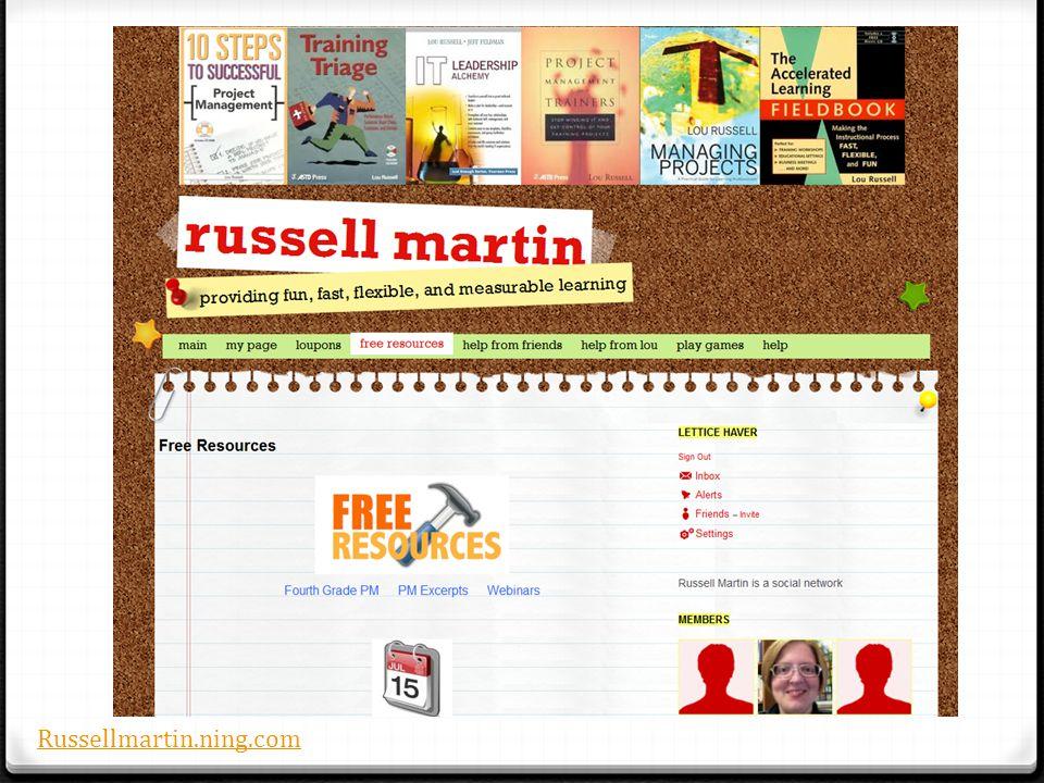 Russellmartin.ning.com