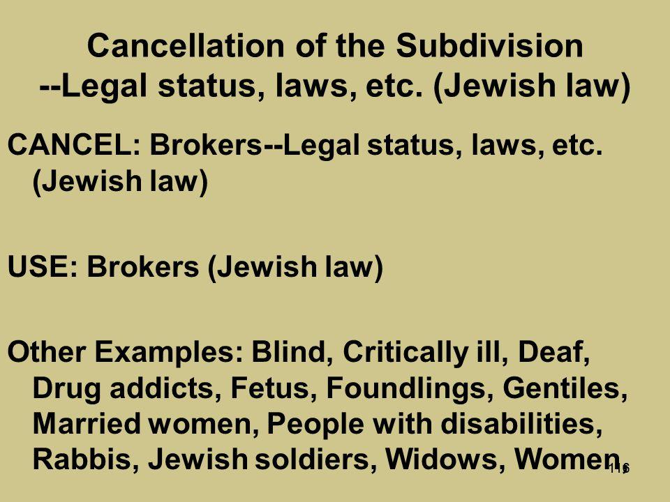 115 Kitniyyot (Jewish law)
