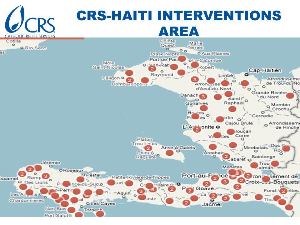 CRS-HAITI INTERVENTIONS AREA