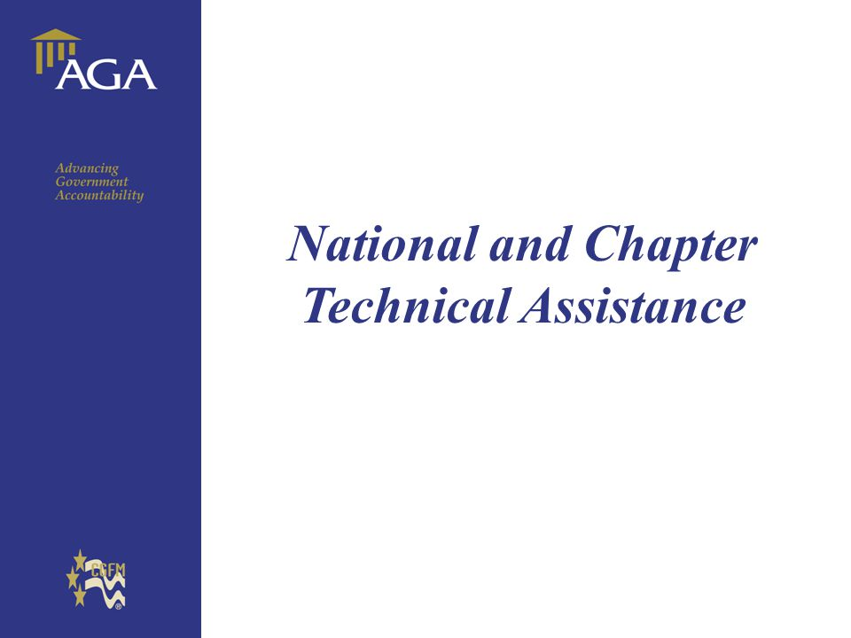 General chart National and Chapter Technical Assistance