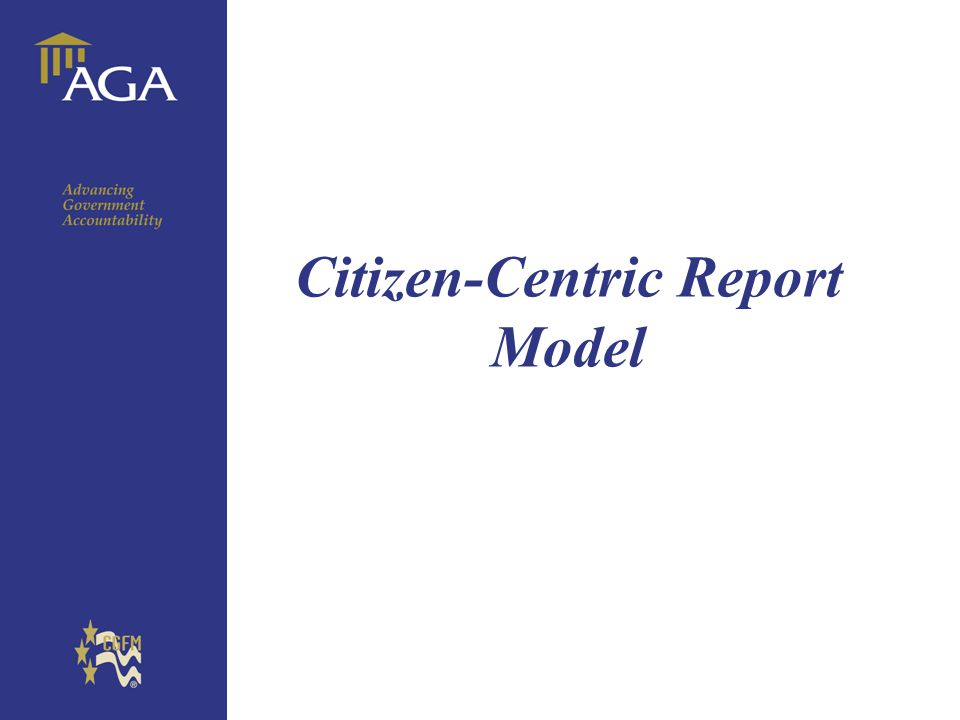 General title Citizen-Centric Report Model